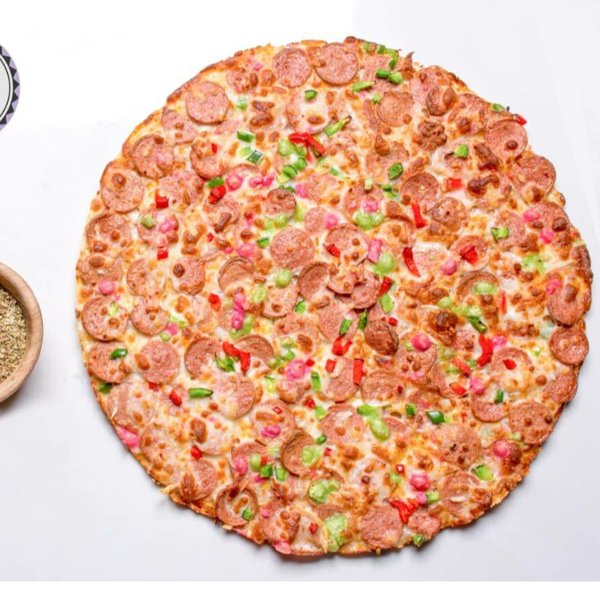 پیتزا سوسیس3 نفره