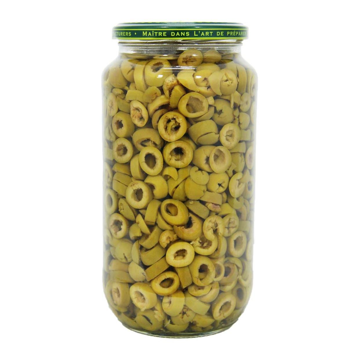 زیتون سبزحلقه شده سوپرویژه 750 گرمی ورمیو