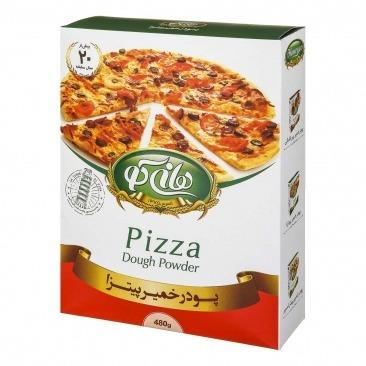 پودر خمير پيتزا طعم دار 500 گرمي تردك