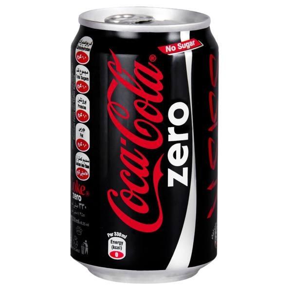 کوکاکولا  زیرو قوطی 330