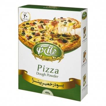 پودر خمير پيتزا 500 گرمي تردك