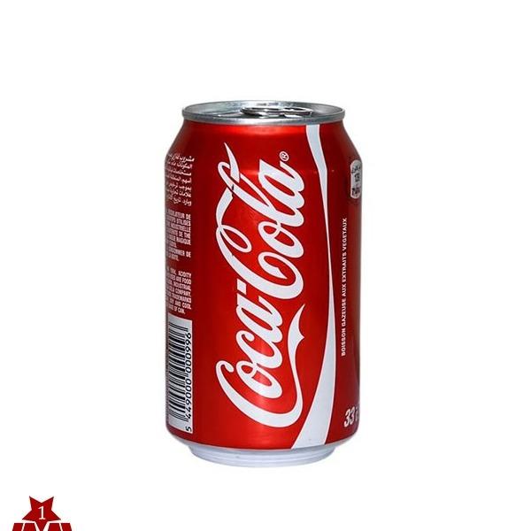 نوشابه کوکاکولا  قوطی 330