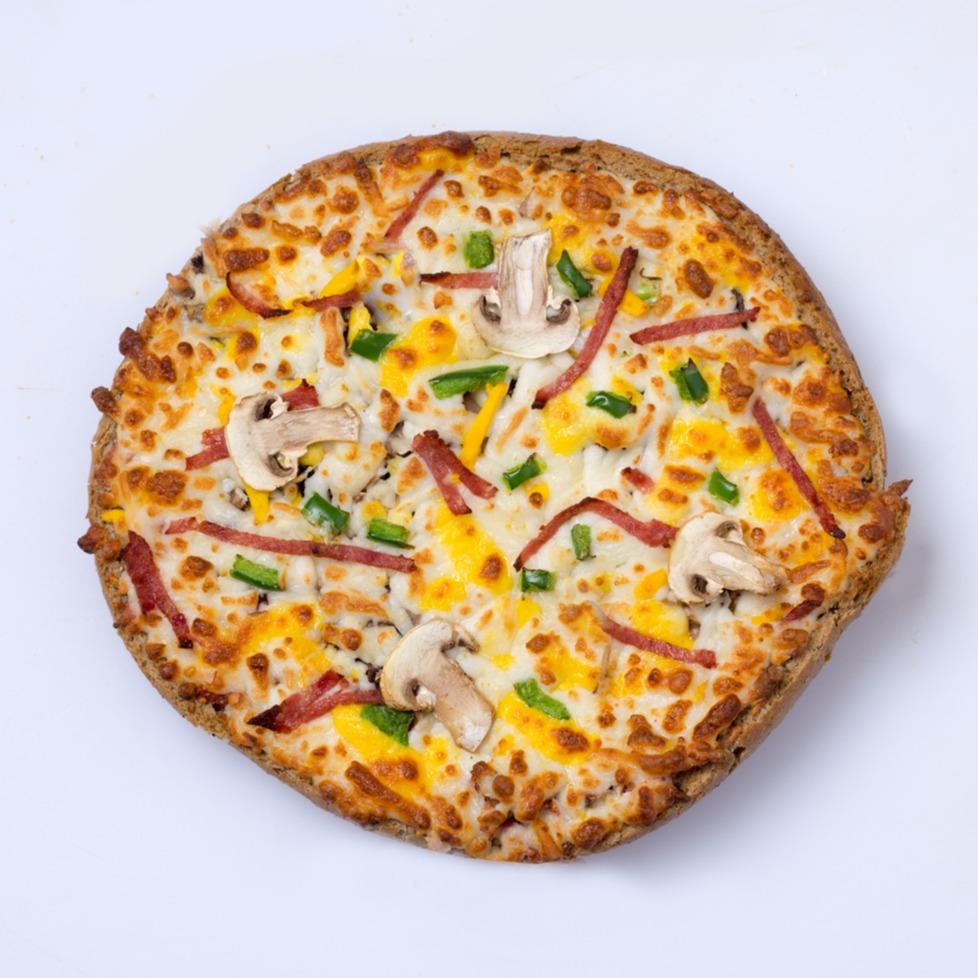 پیتزا برگر100گرمی